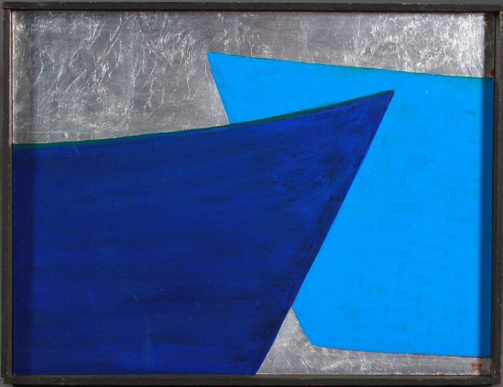 Deux Barques Bleues