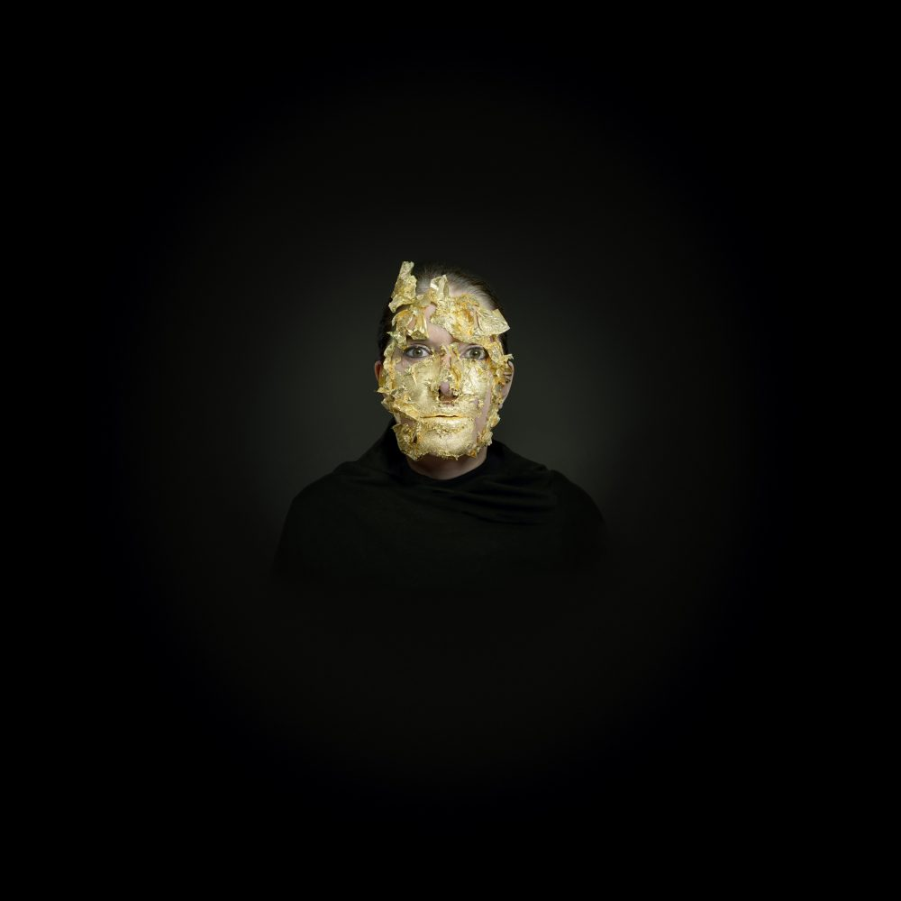 Portrait with Golden Mask